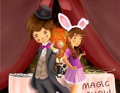 """Check out new work on my @Behance portfolio: """"The magician"""" http://be.net/gallery/32134561/The-magician"""