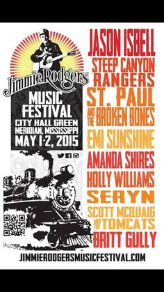 Emi Sunshine And The Rain at Jimmie Rodgers Music Festival ~ Meridian, MS ~ 05-1&2-2015