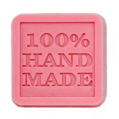 Molde de silicona para jabón, 100% hand made 2D. Apto para hacer jabón de glicerina. DIY.