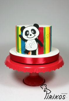 Girl Birthday, Happy Birthday, Birthday Cake, Canal Panda, Bolo Panda, Panda Cakes, Panda Party, Panda Bear, Yummy Cakes