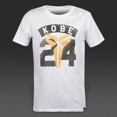 697243df Nike Los Angeles Lakers Legend Kobe Bryant #24 Boys White Dri-Fit T-Shirt  NWT XL #Nike #WorkoutBasketballDressyEverydayHoliday #LosAngelesLakers