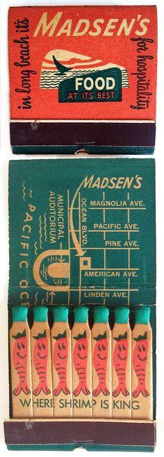 madsen's matchbook