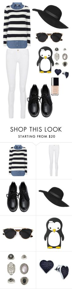 """""""Casual"""" by momomarsha ❤ liked on Polyvore featuring Dorothy Perkins, Frame Denim, Topshop, Christian Dior, MANGO, BillyTheTree and Chanel"""