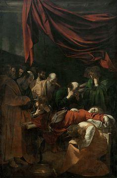 Caravaggio - Death of the Virgin [1604-06]