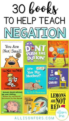 Preschool speech therapy - 30 Books to Help teach Negation in Speech Therapy – Preschool speech therapy Speech Language Therapy, Speech Language Pathology, Speech And Language, Music Therapy, Articulation Activities, Language Activities, Articulation Therapy, Music Activities, Phonics