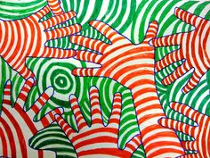 middle school winter art projects | Lesson Plan Wednesday: Color Theory, Op-Art Hands