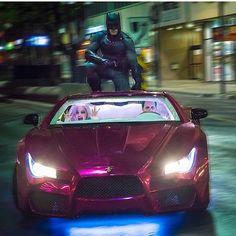 Batman, Joker, Harley; Suicide Squad.