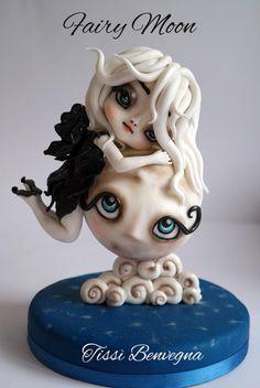 Fairy Moon - Cake by Tiziana Benvegna