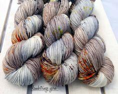 Ewetopia Worsted, Hand dyed yarn, Superwash Merino Wool, 218 yds/ 100g: Kittiwake. by Lambstrings on Etsy