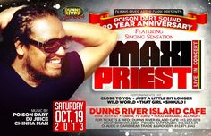 Maxi Priest flyer
