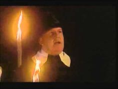 Ronald Villiers at the witch burning