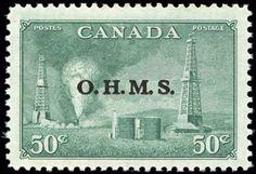 Canada #O11, F-VF, MH