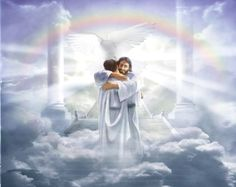 """Jesus Welcoming to Heaven   Welcome My Child"""" by Danny Hahlbohm"""