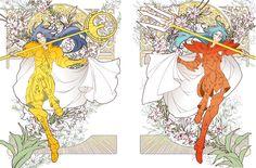 Gemini Saga   Sea Dragon Kanon