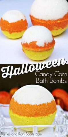 Mason Jar Crafts – How To Chalk Paint Your Mason Jars - Nedette Mason Jar Diy, Mason Jar Crafts, Halloween Bath Bombs, Halloween Party, Galaxy Bath Bombs, Bath Bomb Ingredients, Savon Soap, Homemade Bath Bombs, Diy Bath Bombs
