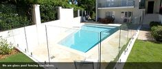 Glass Pool Fencing, Pool Fence, Aqua, Deck, Outdoor Decor, Image, Home Decor, Water, Decoration Home