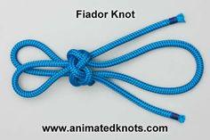 Fiador (Theodore) Knot | How to tie the Fiador (Theodore) Knot | Decorative Knots