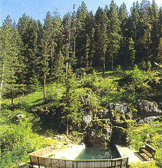 Potosi hot springs, Montana