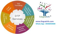 #Desktop_publishing (abbreviated DTP) is the creation of documents using page layout skills on a personal computer. Desktop can generate layouts and produce typographic quality text and images comparable to #traditional_typography and #printing. #DTP_Services, #Editing_Services www.linguainfo.com