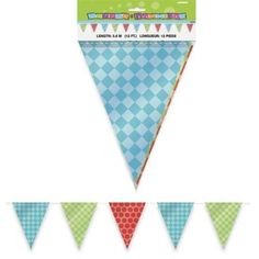 Bright-Check-Bunting-Flags-Decorations-Party-Decorations-Party-Supplies-Birthday