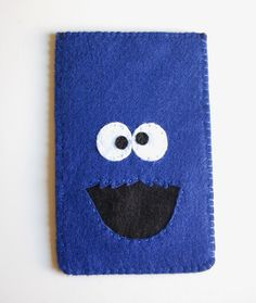 Cookie monster phone cozy
