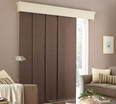 These Roller Blinds Have Been Installed Behind A Pelmet To