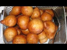How to Make Nigerian Puff Puff (Kpof Kpof). I wonder how similar they are to Congo (DRC) beignets?