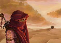 desert warrior by schattenlos.deviantart.com on @deviantART