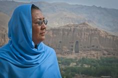 Bamyan Governor Habiba Sarabi, the only female provincial governor in Afghanistan's history.