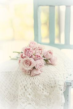 """""""roses and lace"""" Explored !!! Thank you !! by lucia and mapp, via Flickr"""