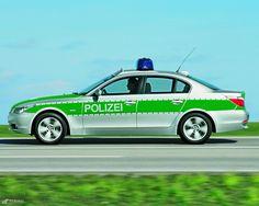 BMW 5er Polizeiwagen