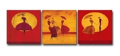 3 Piece Canvas Art Modern Art 100% Hand Painted Oil Painting on Canvas Wall Art Deco Home Decoration (Unstretch No Frame) by galleryworldwide, http://www.amazon.com/dp/B009Y3EXZC/ref=cm_sw_r_pi_dp_dudUrb1KVAQXR