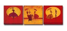 3 Piece Canvas Art Modern Art 100% Hand Painted Oil Painting on Canvas Wall Art Deco Home Decoration (Unstretch No Frame) by galleryworldwide, http://www.amazon.com/dp/B009Y3EXZC/ref=cm_sw_r_pi_dp_dudUrb1KVAQXR
