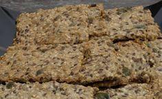 Naturlig livsstil: Kjempegodt glutenfritt knekkebrød