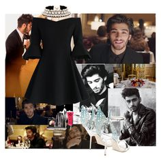 """""""Dinner with Zayn"""" by soledad-trinidad on Polyvore featuring moda, CENA, Chicwish, Shourouk, Payne, LORAC, Sophia Webster y Obsessive Compulsive Cosmetics"""