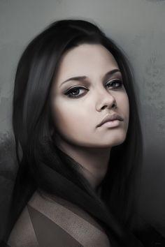 Girl Portrait Digital Art