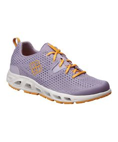 Take a look at this Lavender & Yellow Drainmaker II Running Shoe - Women by Columbia on #zulily today!