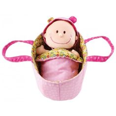 Baby Chloe and thousands more of the very best toys at Fat Brain Toys. Play with darling Chloe doll, wrap her in the soft blanket, remove her pajamas and her diaper for a change, put her clo.