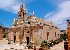 Arkadi Monastery, Crete Island, Greece