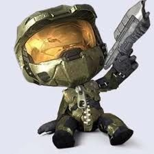 master chief little big planet style