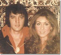 """Elvis Presley and Linda Thompson Linda: """"We shared a real kinship. I mean, we became kindred souls."""""""