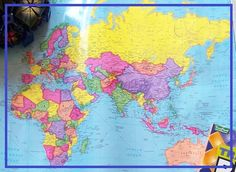 Why Every Home Needs a Map -- 7 Ideas for connecting kids with the world