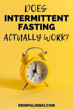 Wondering if intermittent fasting works? Learn about whether this weight loss diet is a good choice to shed pounds, or if you should look for other weight loss hacks.