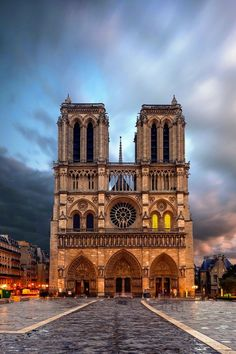 4.The Cathedral of Notre Dame