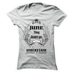 (Tshirt Sale) Is JUNE Thing 999 Cool Name Shirt at Tshirt Family Hoodies, Tee Shirts