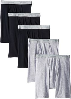 Fruit of the Loom Men's 5-Pack No Ride Up Boxer Brief, Bl... http://www.amazon.com/dp/B00IPKPA34/ref=cm_sw_r_pi_dp_Yz8fxb1XEH92H