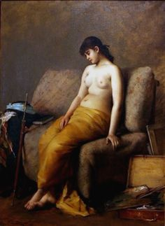 Marie Petiet, Le repos du modele