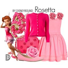 Rosetta by Disney Bound Disney Character Outfits, Cute Disney Outfits, Disney Themed Outfits, Disneyland Outfits, Character Inspired Outfits, Disney Bound Outfits, Disney Dresses, Cute Outfits, Disney Princess Fashion