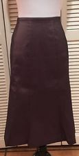 Tadashi Shoji Purple Mid Calf Length Formal Cocktail Skirt, Size 2