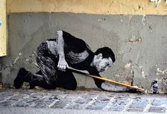 Minesweeper: Amazing New Street Art Comes to Life in the 5th District of Paris by Levalet